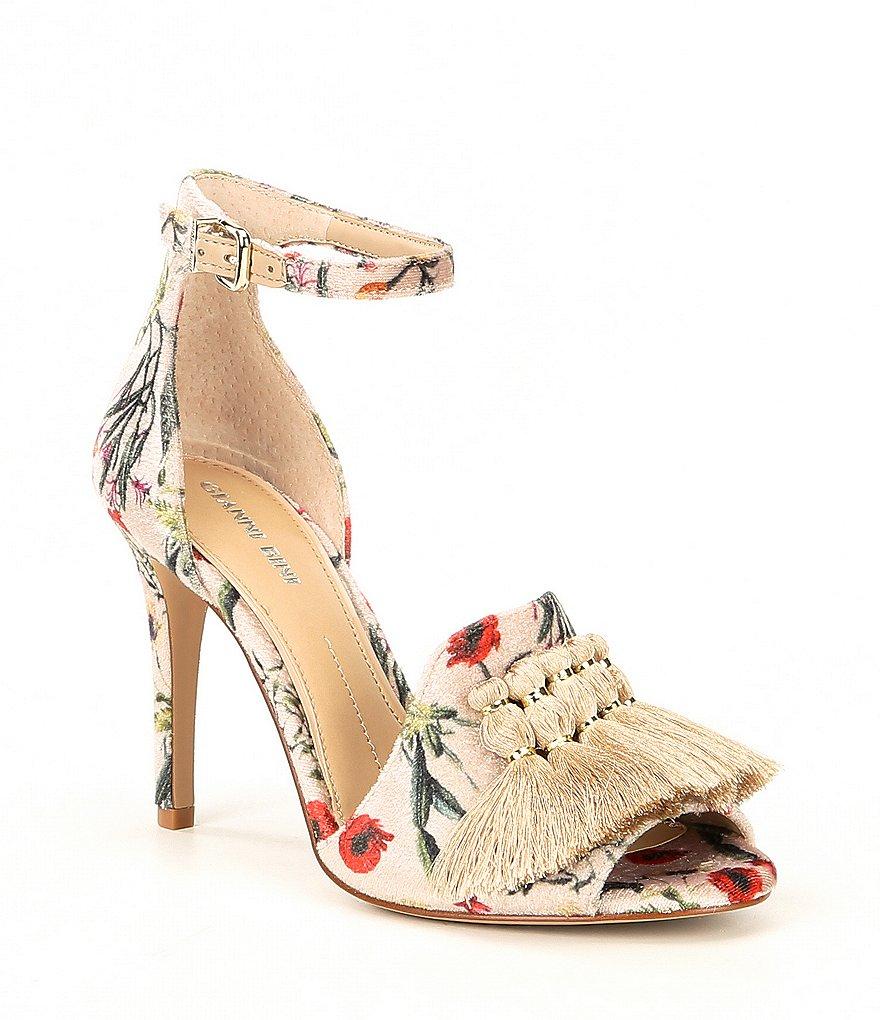 floral print heel
