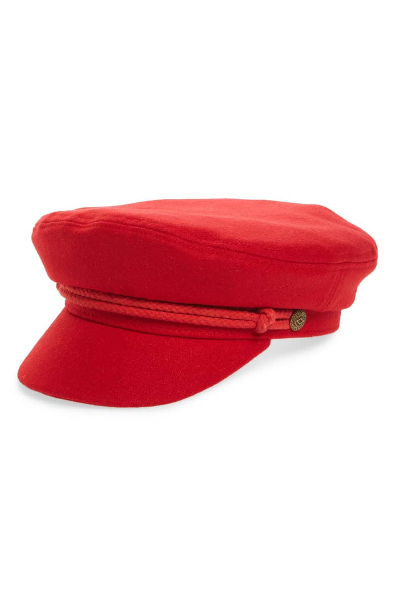 Red Brixon Hat