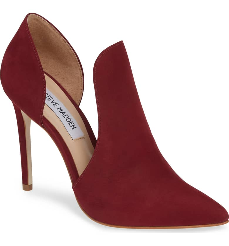 Steve Madden Red Pump