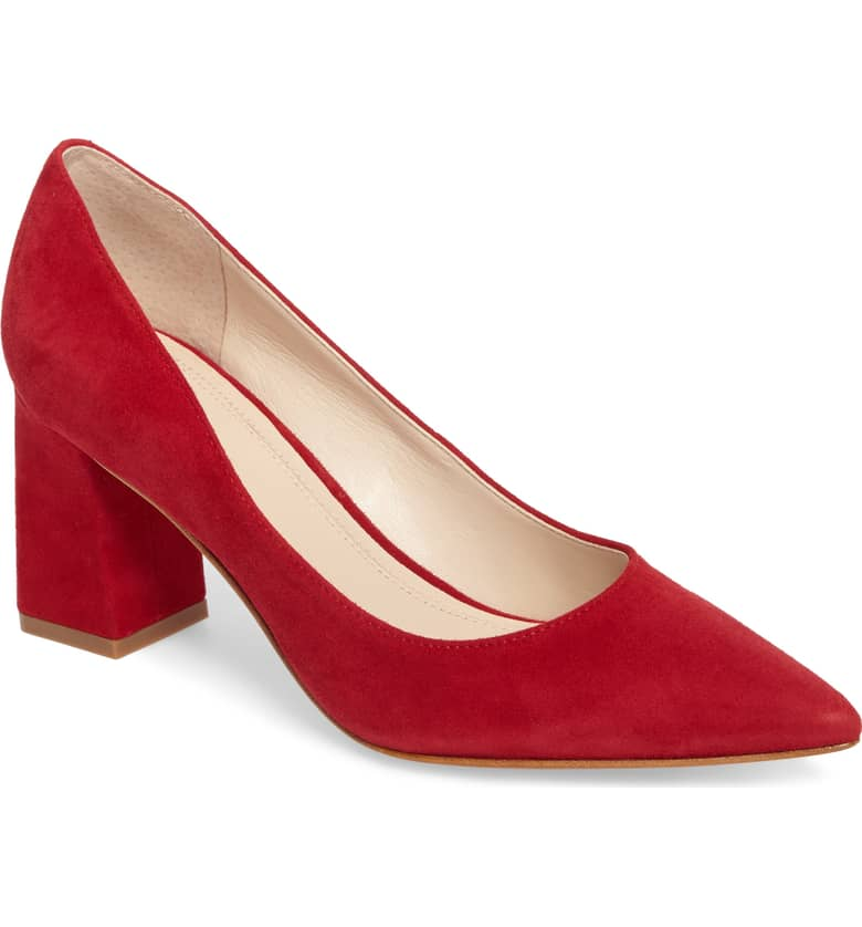 MF red heel